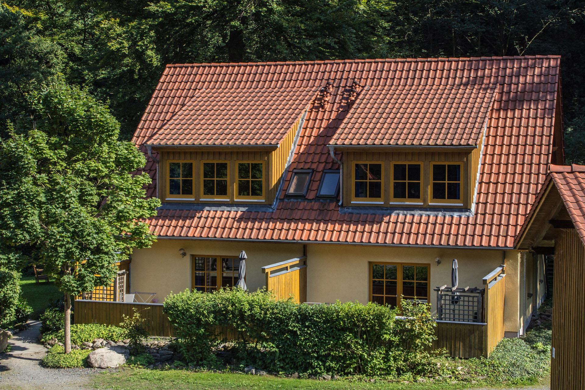 ferienh user am brocken ferienwohnung 60 qm mit 2 schlafzimmern ferienhaus r. Black Bedroom Furniture Sets. Home Design Ideas