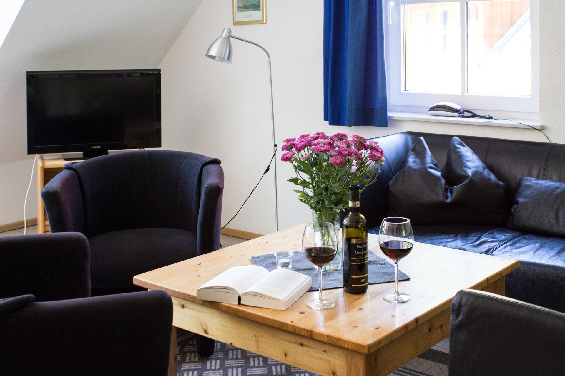 Ferienh user am brocken ferienwohnung 80 qm mit 3 for Wohnzimmer 80 qm