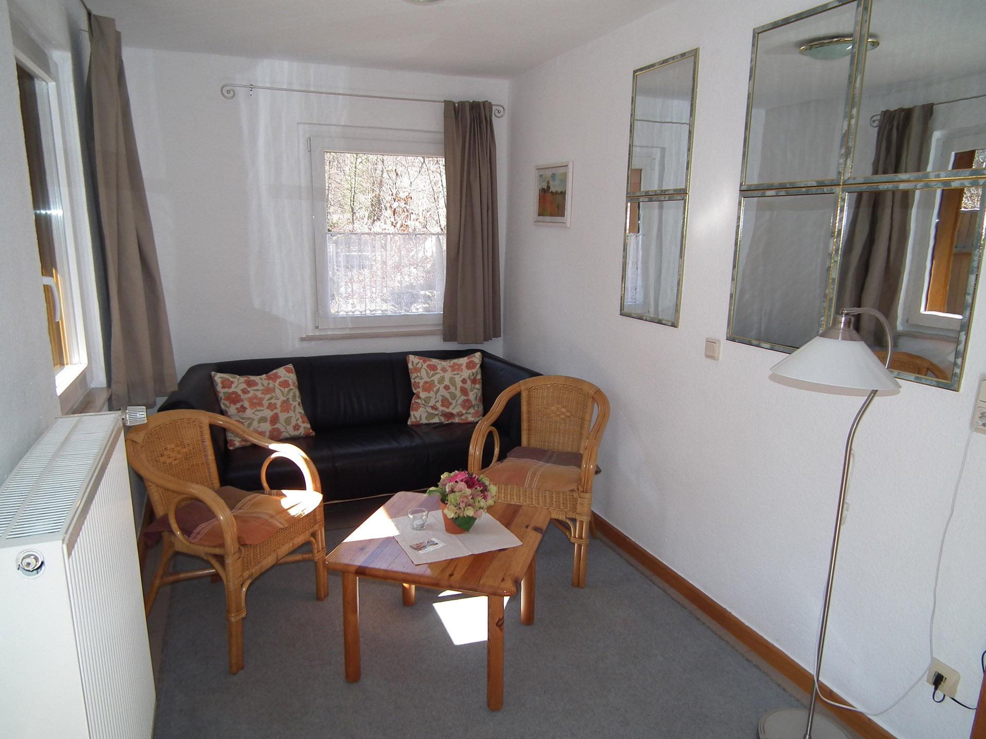 Ferienh user am brocken reihenhaus 40 qm mit 1 for Wohnzimmer 40 qm