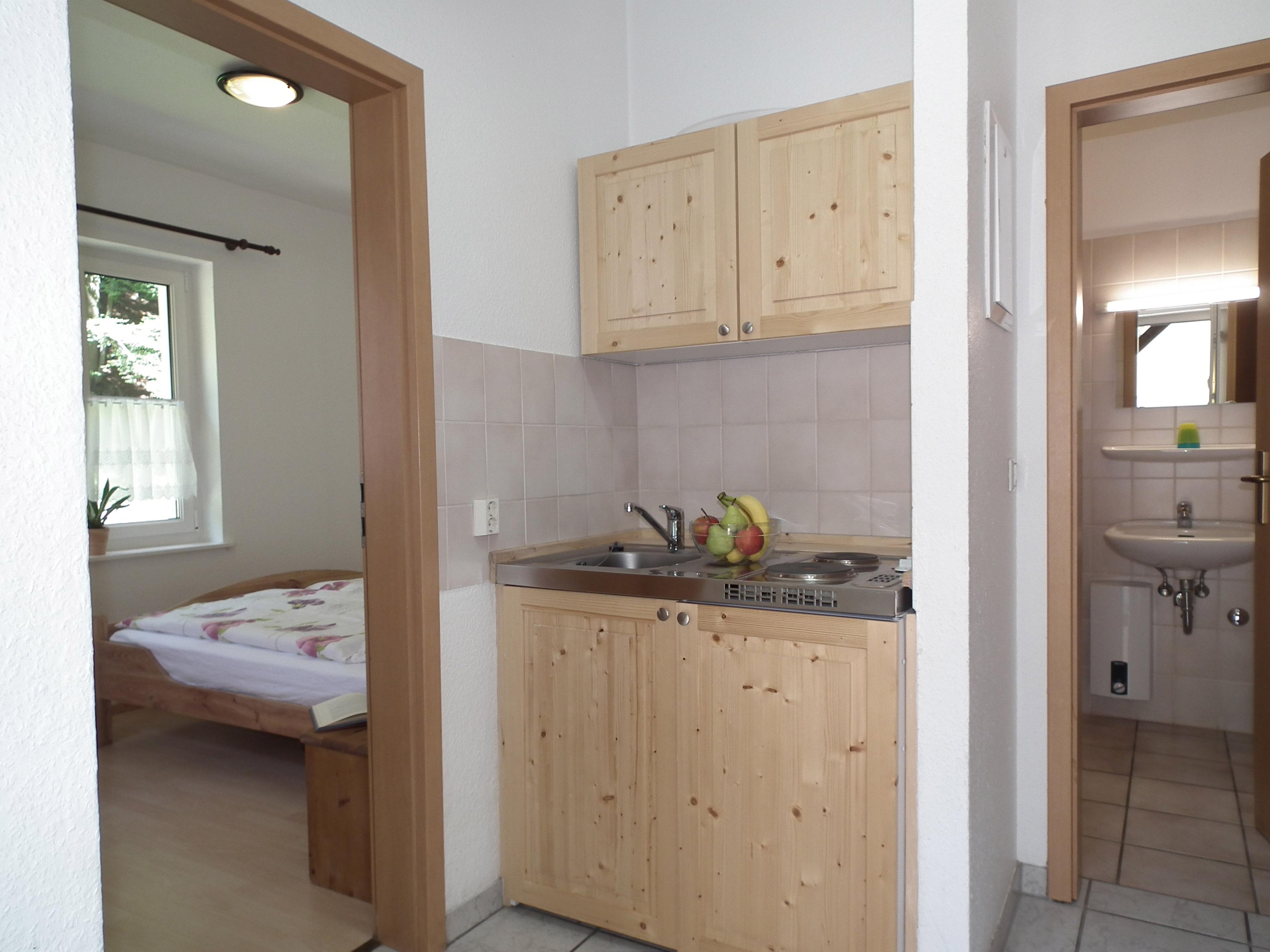 ferienhaus nex ferienwohnung 30 qm mit 1 schlafzimmer ferienhaus r. Black Bedroom Furniture Sets. Home Design Ideas
